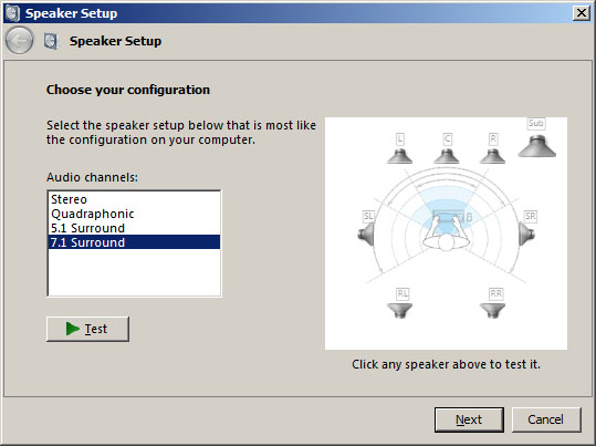 SpeakerConfig